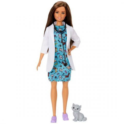 Barbie You Can Be Anything Pet Vet Doll