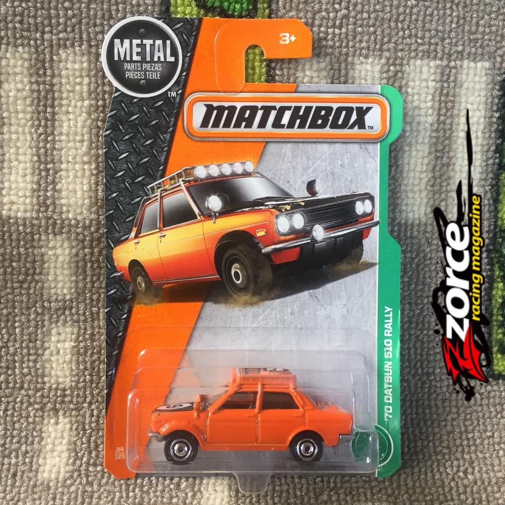 Matchbox '70 Datsun 510 Rally