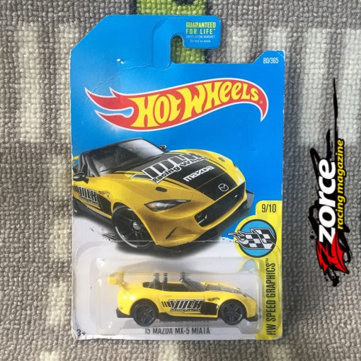Hot Wheels '15 Mazda MX-5 Miata