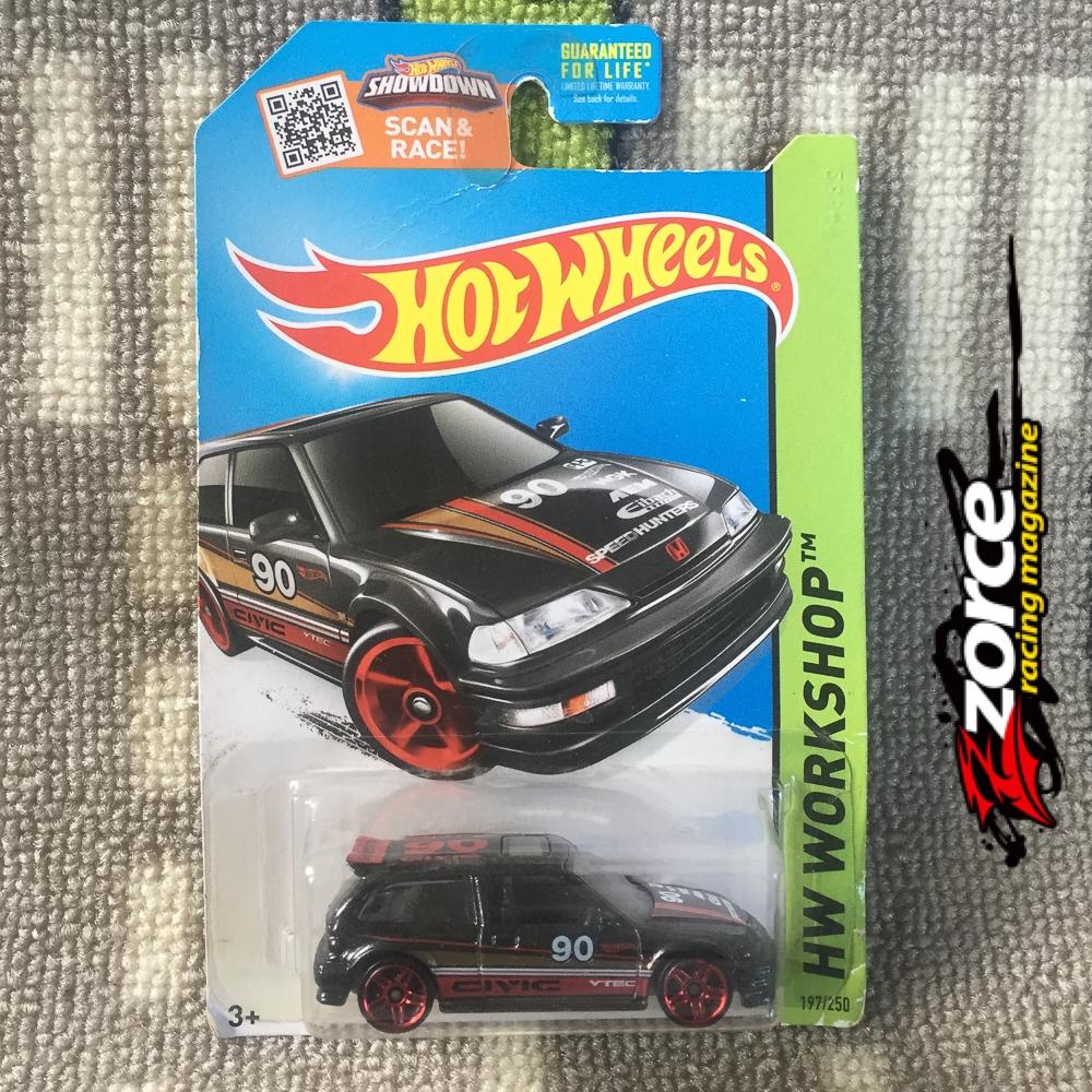 Hot Wheels 1990 Honda Civic EF