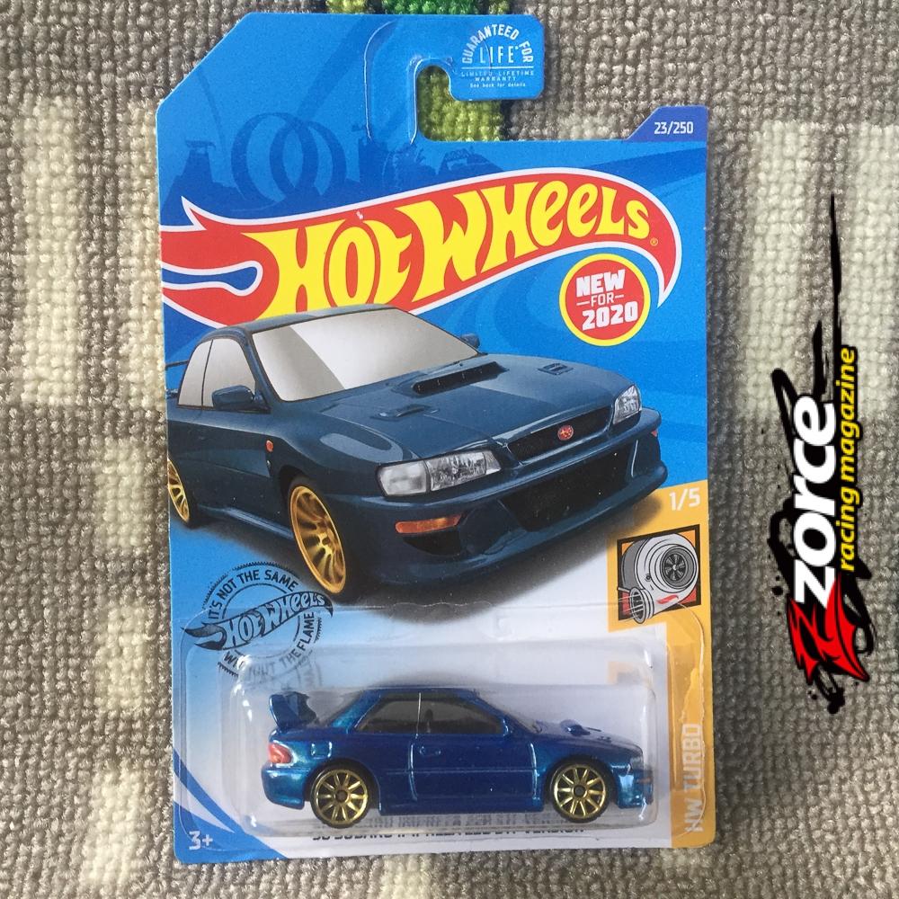 Hot Wheels 98 Subaru Impreza 22B STI