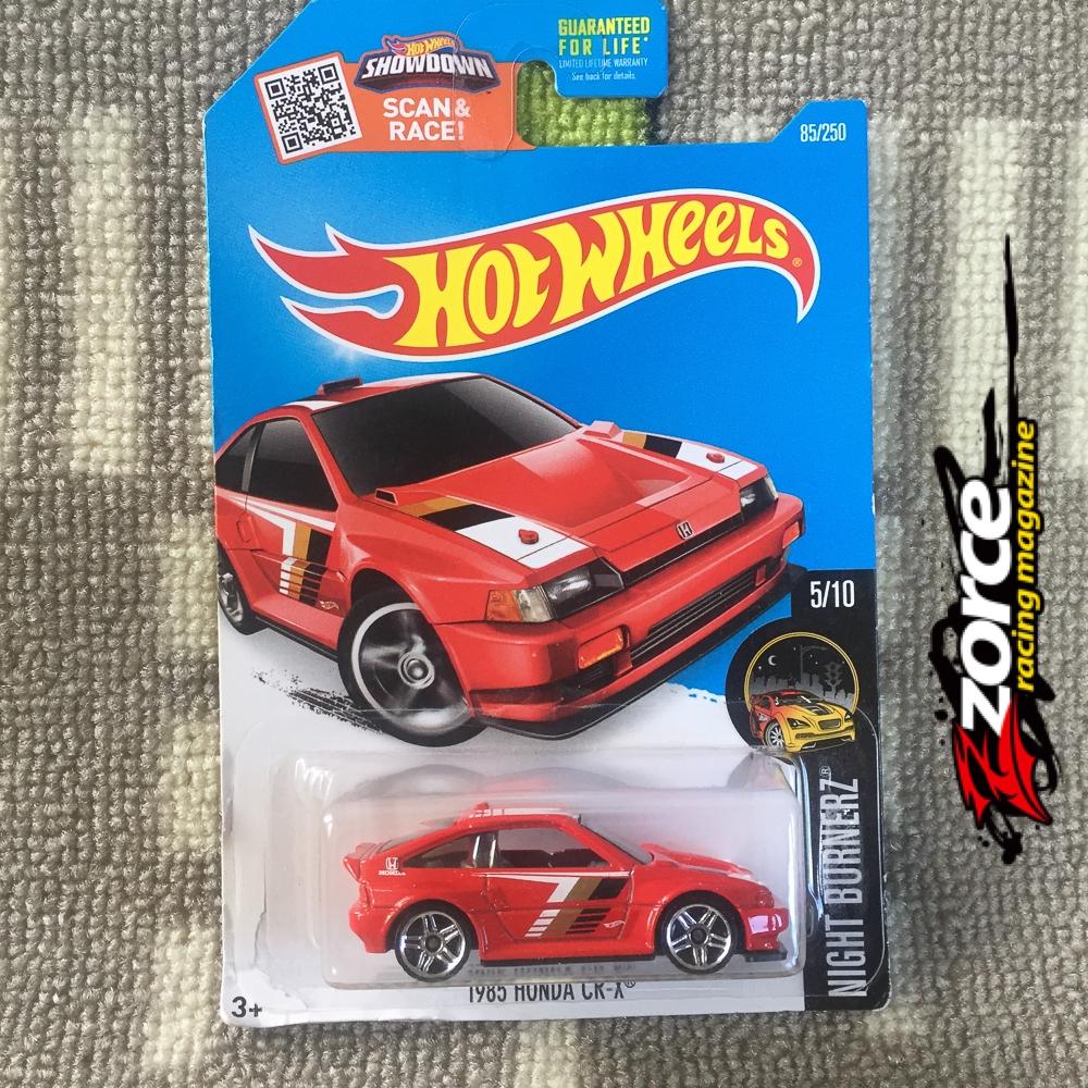 Hot Wheels 1985 Honda CR-X