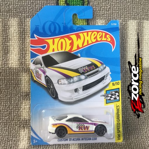Hot Wheels Custom '01 Acura Integra GSR KW