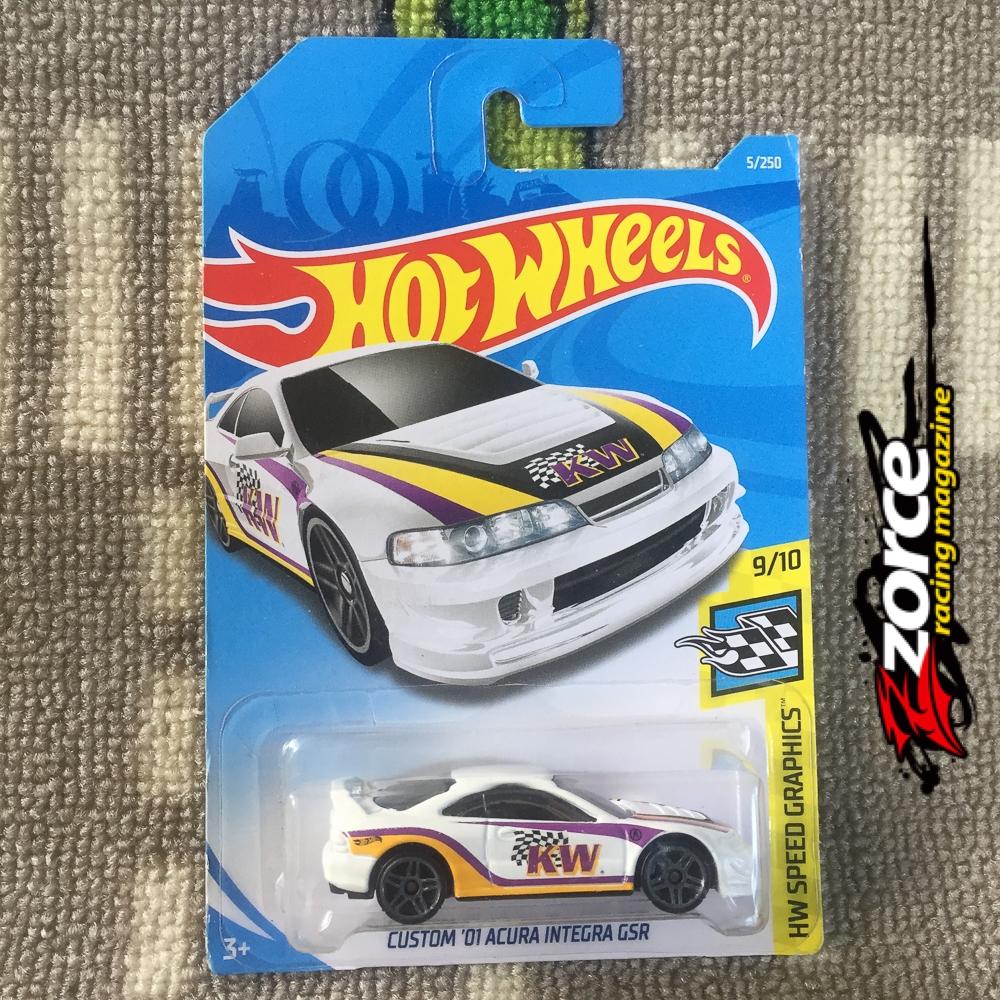 Hot Wheels Custom '01 Acura Integra GSR KW