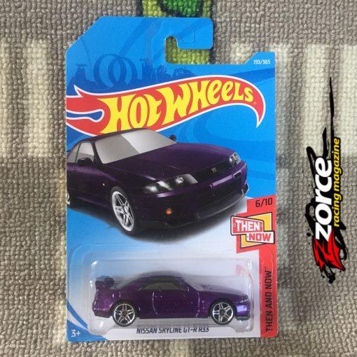 Hot Wheels Nissan Skyline GT-R (BCNR33) Purple