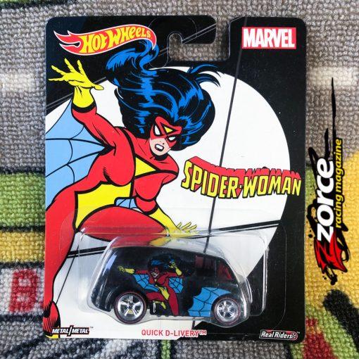 Hot Wheels Premium Marvel Spider Woman