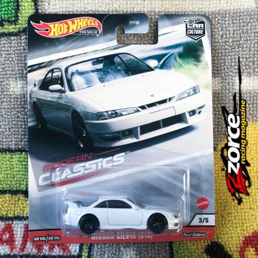 Hot Wheels Car Culture Modern Classics Nissan Silvia S14