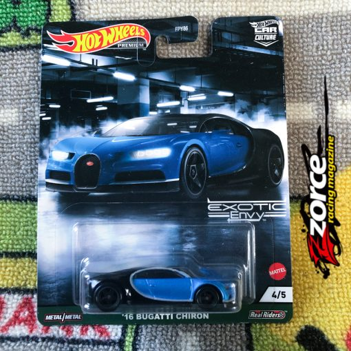 Hot Wheels Car Culture Exotic Envy '16 Bugatti Chiron