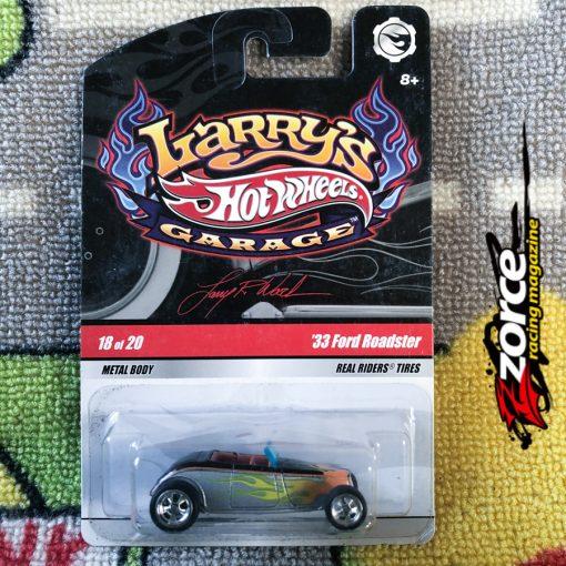 Hot Wheels Larry's Garage '33 Ford Roadster