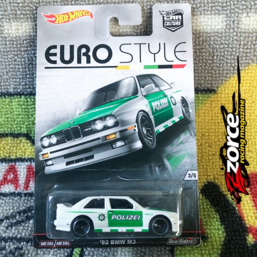 Hot Wheels Car Culture Euro Style '92 BMW M3
